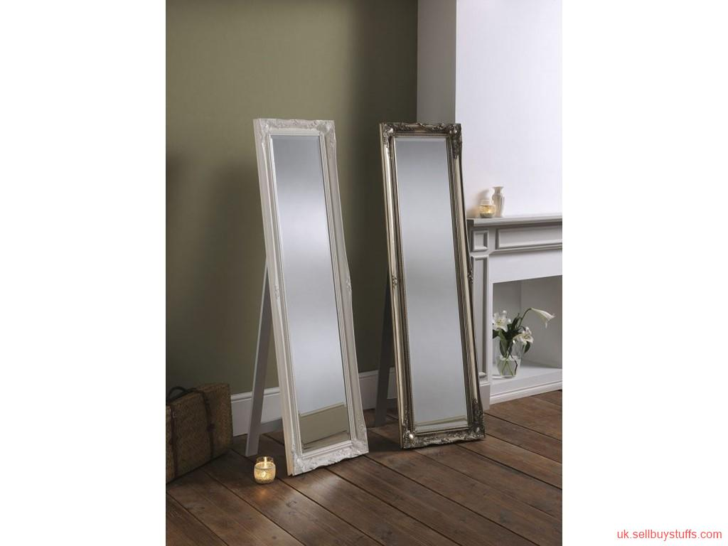 second hand/new: Buy extra large wooden mirror at Affordable Rates in the UK