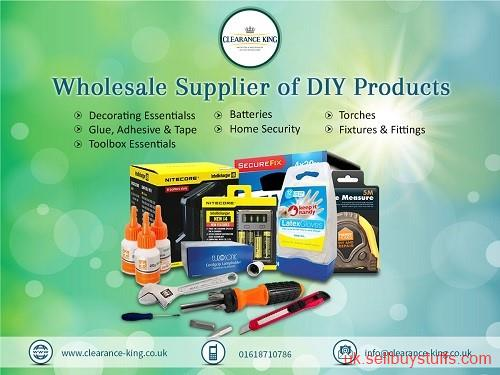 second hand/new: Top  DIY products wholesaler  in UK