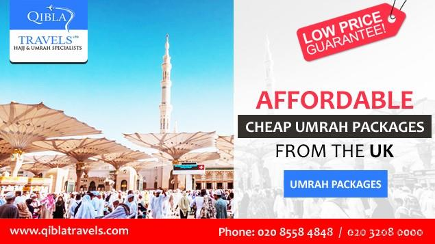 second hand/new: Umrah Packages With Flights | Book Cheap Umrah Packages from Qibla Travels Ltd