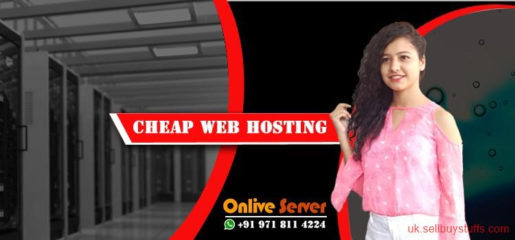 second hand/new: Cheap Linux Web Hosting – Onlive Server