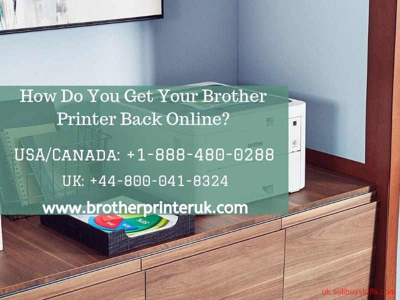 second hand/new: How Do You Get Your Brother Printer Back Online | Toll-free +44-800-041-8324