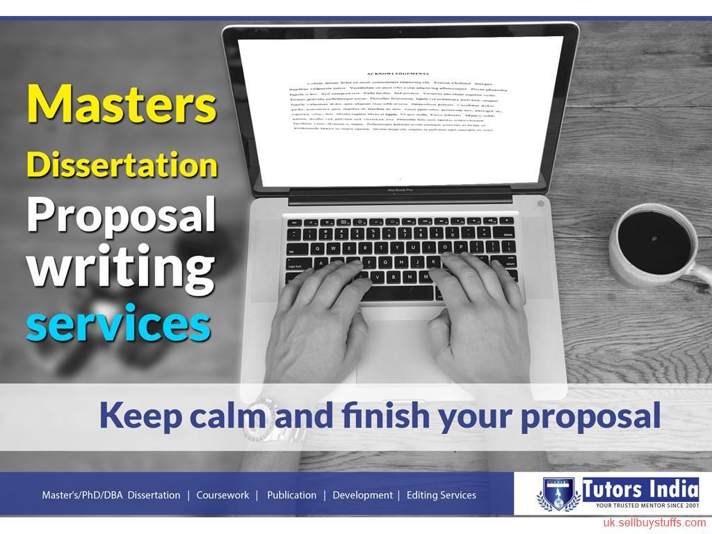 Proposal and dissertation help branding