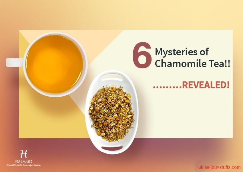 second hand/new: Loose Chamomile Tea | Halmari Tea