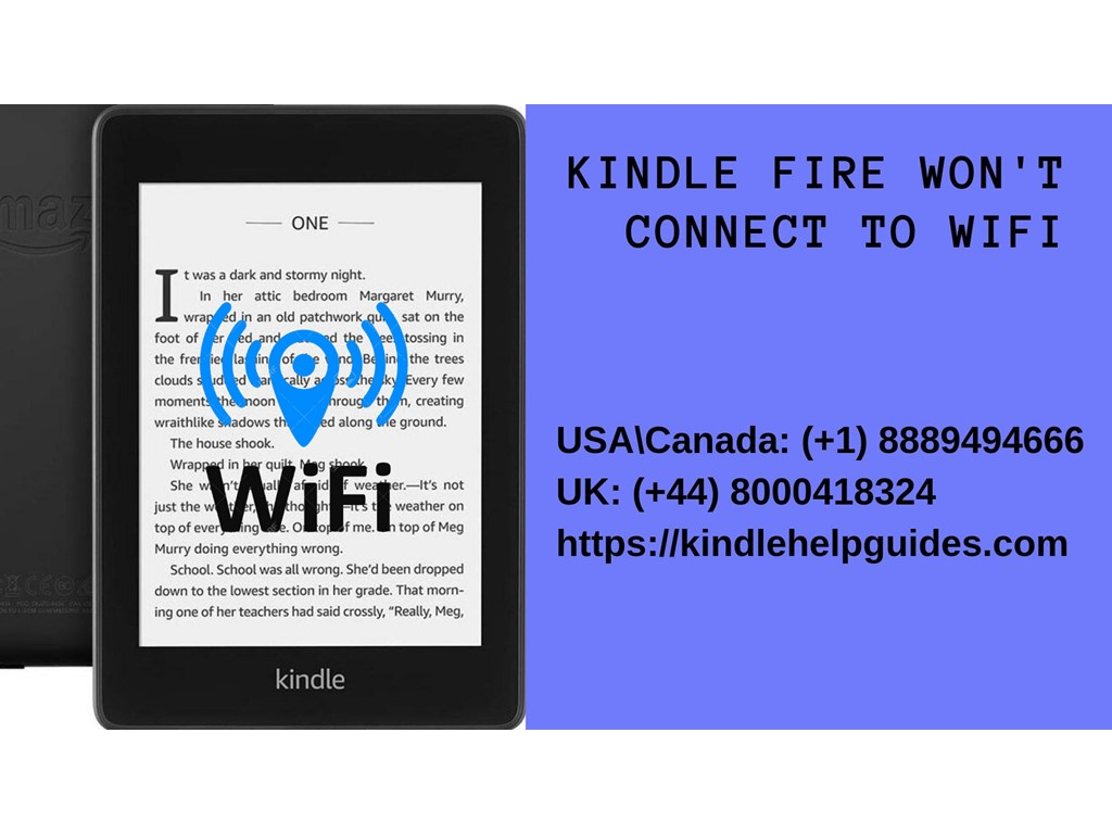 second hand/new:  Kindle fire wifi connection failure | Call +44-800-041-8324