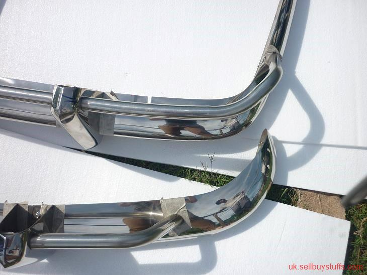 second hand/new: Volkswagen Karmann Ghia US Bumper 1956-1971 in Stainless steel