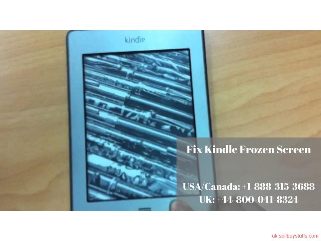 second hand/new: Fix Kindle Frozen Screen Error | Call Kindle Helpline +44-800-041-8324