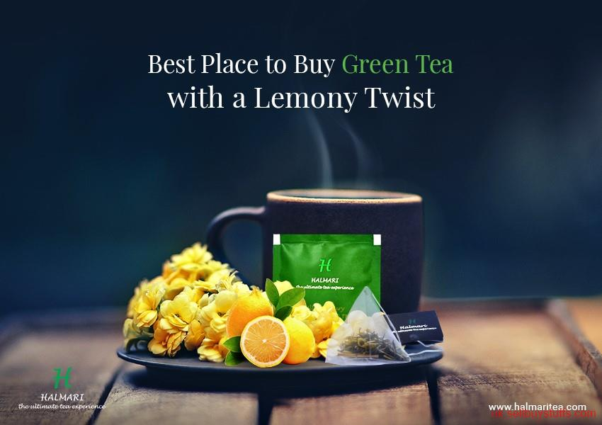 second hand/new: Green Tea With Lemon Loose Tea