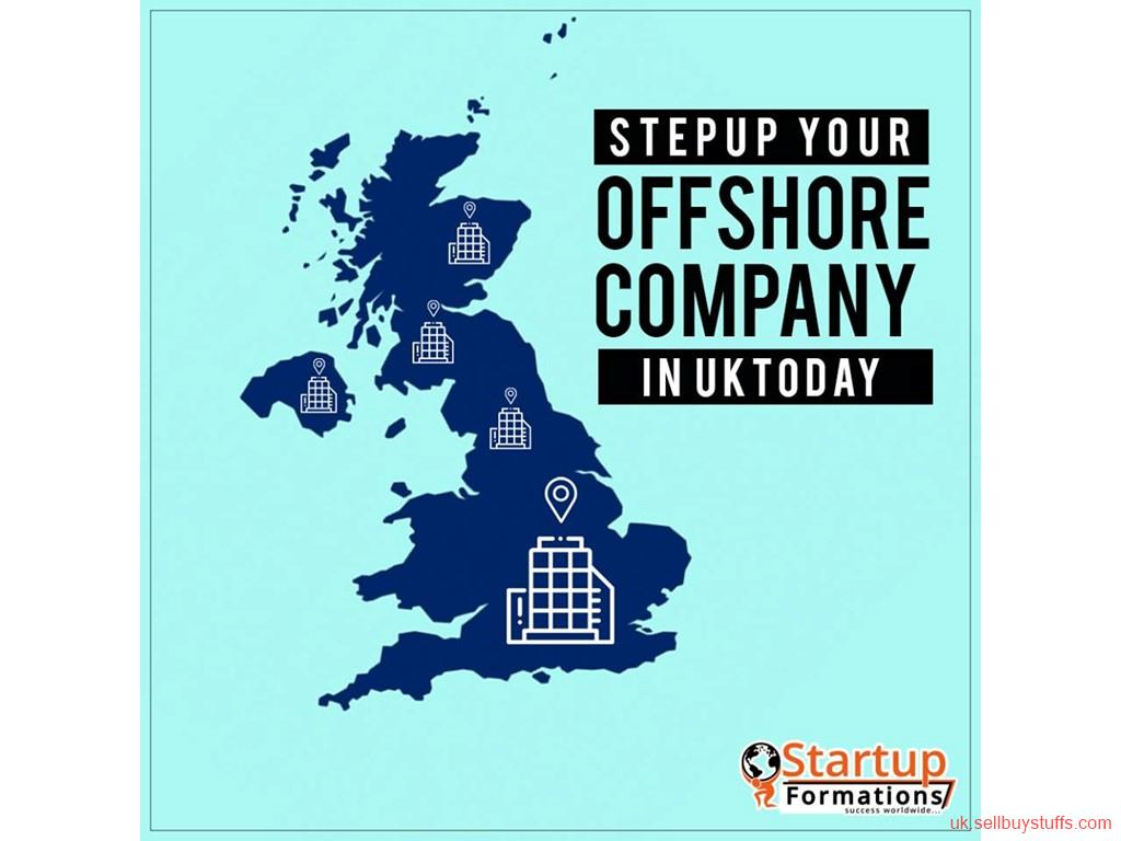 second hand/new: Setup an offshore company with startup formations for non-UK residents