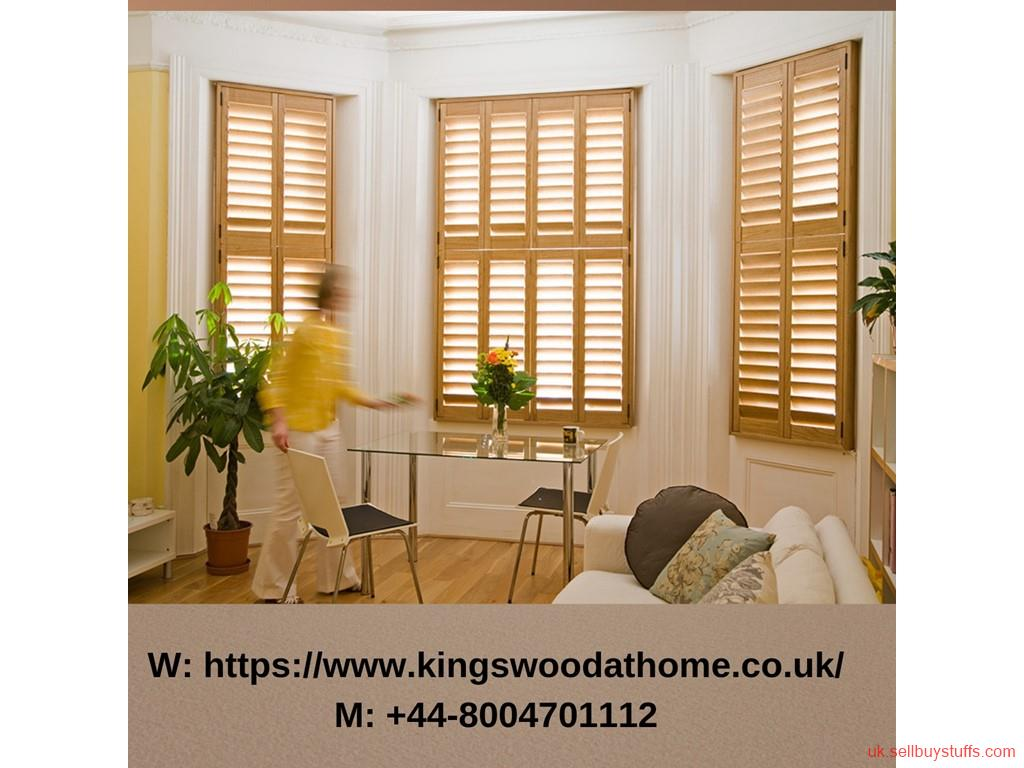 second hand/new: Get the best shutters for your new home
