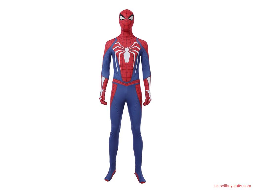 business PS4 Insomniac Spiderman replica cosplay costume