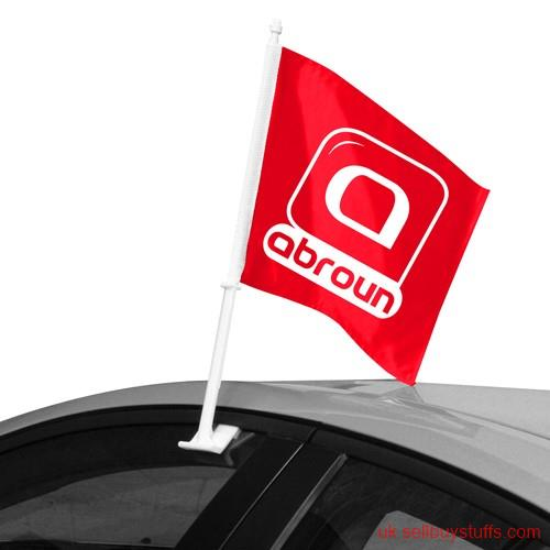second hand/new: Order Customized Car Flags at Wholesale Price