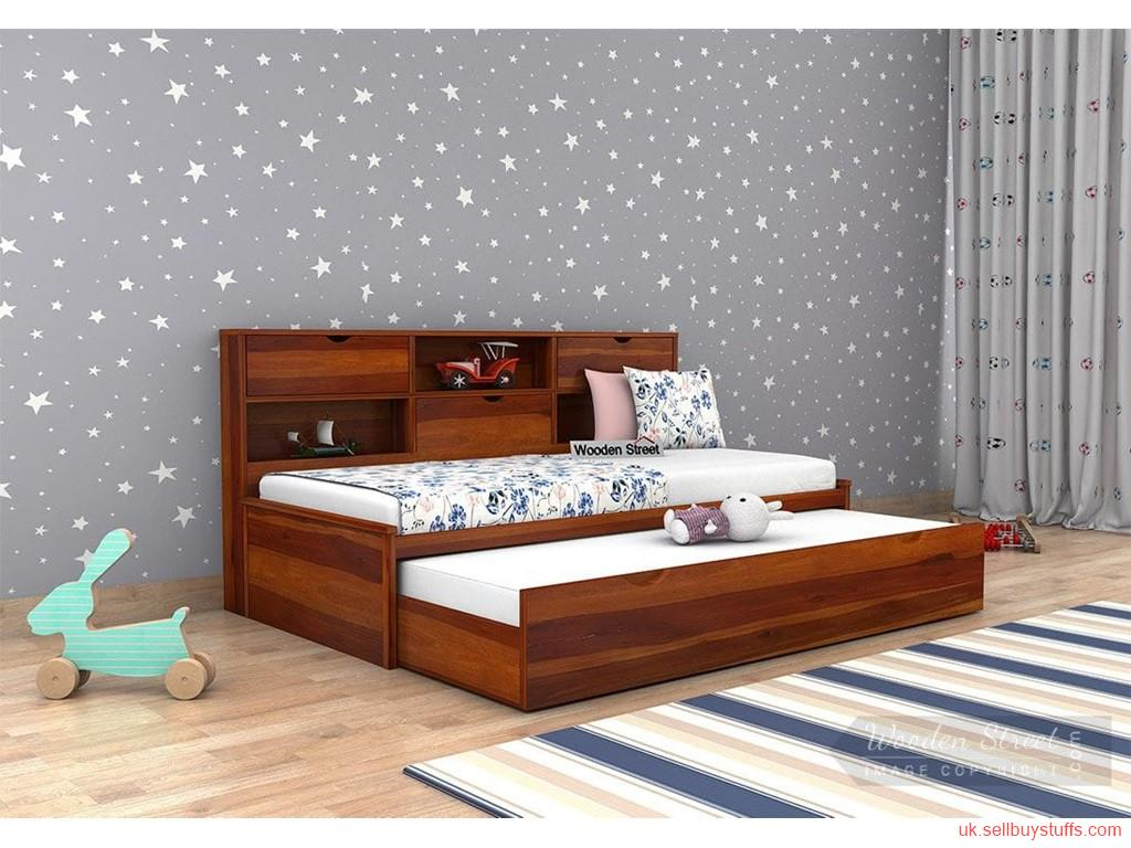 second hand/new: Wooden Truckle Bed in UK| Wooden Street