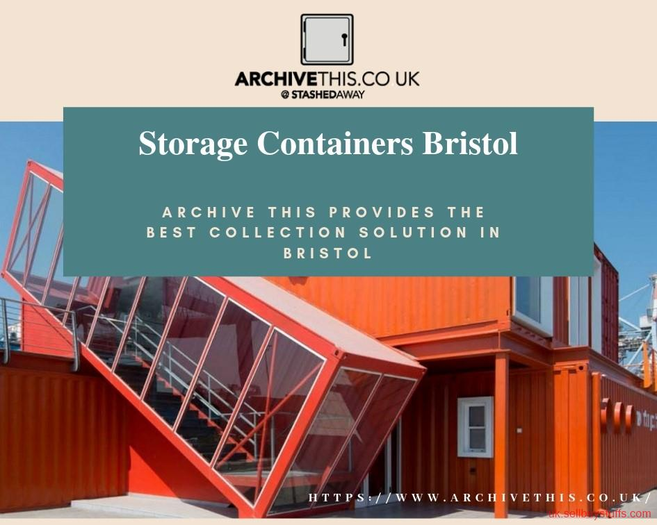 second hand/new: Reliable Place for Storage Containers in Bristol - Archive This