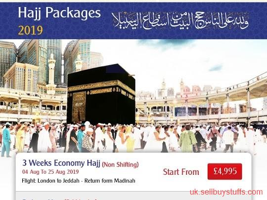 second hand/new: Hajj Packages 2019 | Book Now With Qibla Travels Ltd and Save More