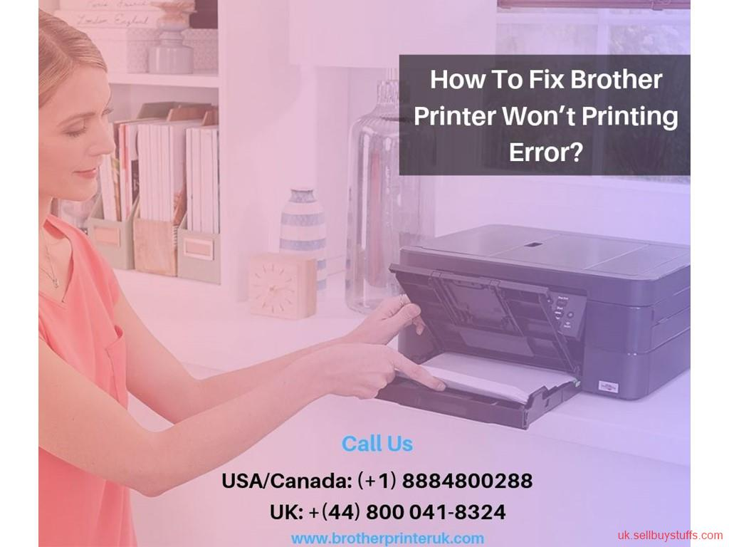 second hand/new: Proved How To Fix Brother Printer Won't Print Issues - + (44) 800-041-8324