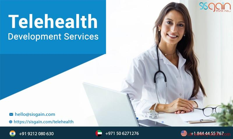 second hand/new: Get Best Telehealth development services in UK | SISGAIN
