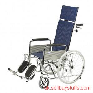 second hand/new: Fully Reclining Wheelchair