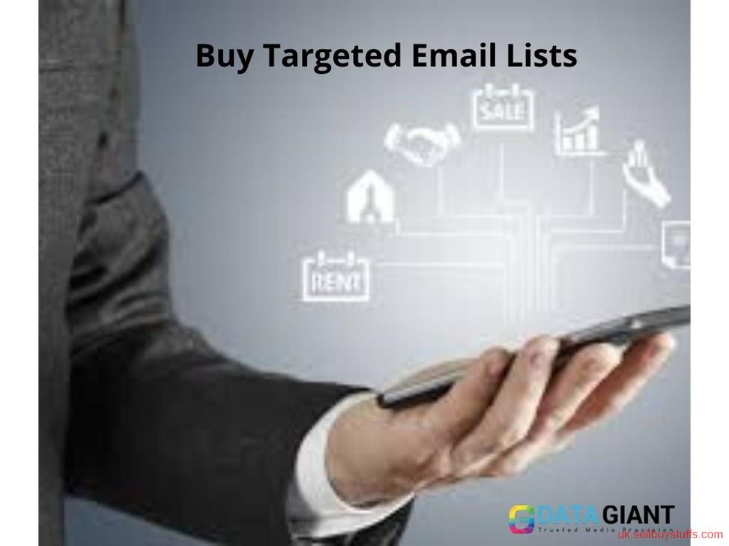 second hand/new: B2B Email List Providers | Business Email Marketing Lists
