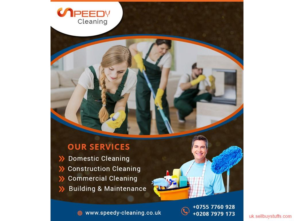second hand/new: Best Commercial Cleaning Services in London