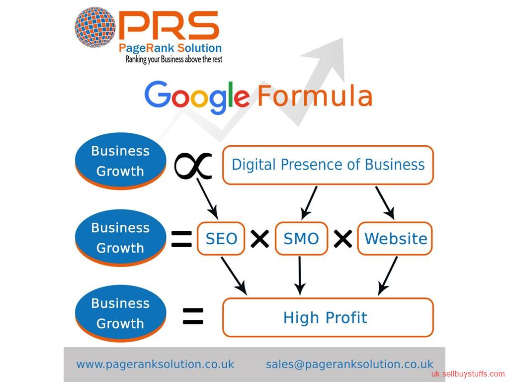 second hand/new: SEO company in UK