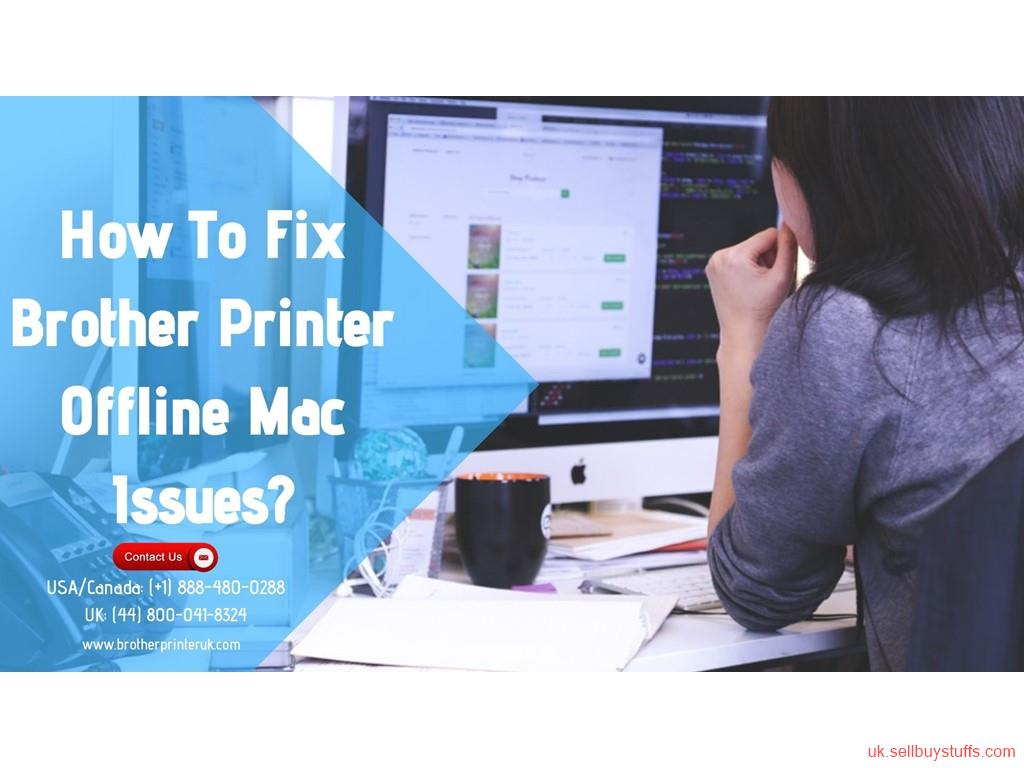 second hand/new: Brother Printer Offline Mac | Call + (44) 800 041-8324