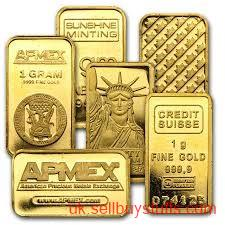 second hand/new: Bullion Gold Bar