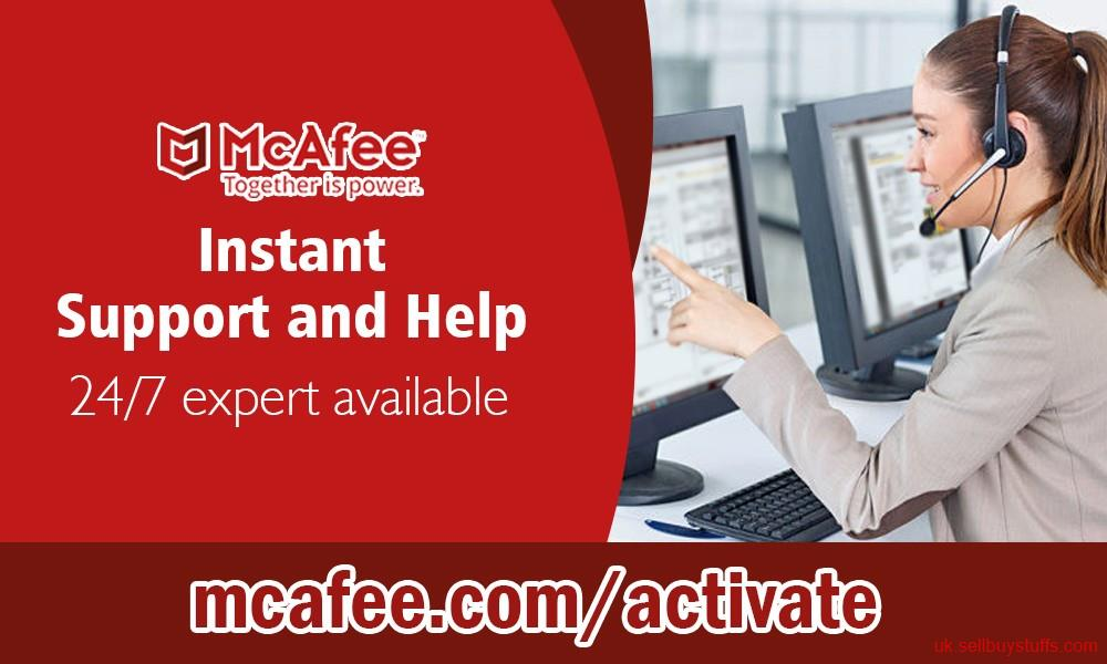 second hand/new: mcafee.com/activate