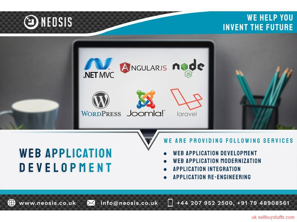 second hand/new: Web App Development services for uk in digital marketing