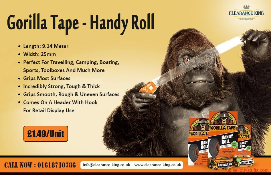 second hand/new: Wholesale Glue And Tape Supplier In UK At Best Price