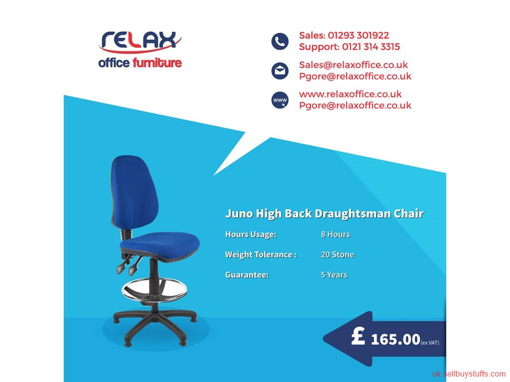 second hand/new: High Back Graughtsman Chair for Sale in UK