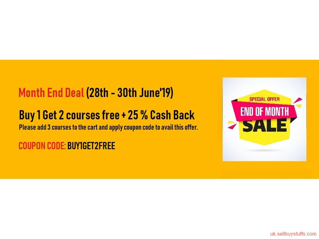 second hand/new: BUY 1 GET 2 SAP VIDEO COURSES FREE