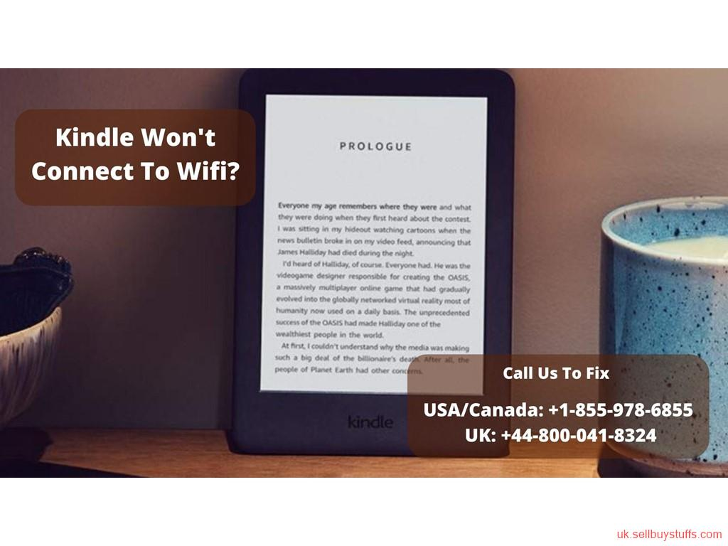second hand/new: Solution To Fix Kindle Won't Connect To Wifi Error | Call +44–800–041–8324