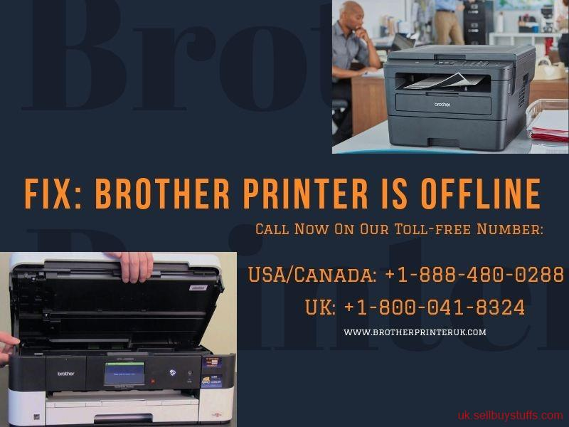 second hand/new: Fix: Brother Printer Is Offline – Brother Printer UK – +1-888-480-0288
