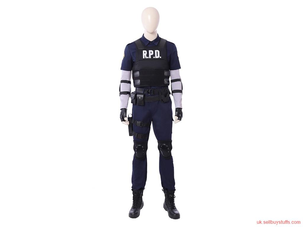 second hand/new: Resident Evil 2 Remake Leon Scott Kennedy cosplay costume