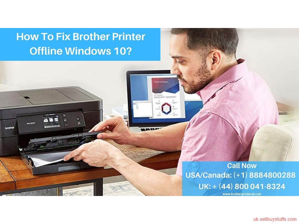 second hand/new: Brother Printer Offline Windows 10| Help Support + (44) 800-041-8324