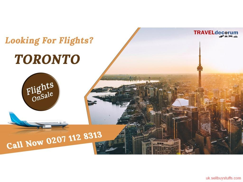 second hand/new: london to toronto flight tickets | flights london to Toronto | call at 0207-112-8313