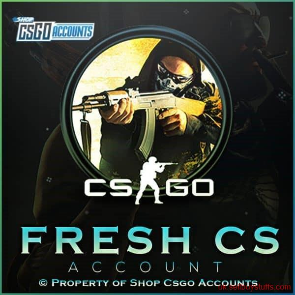 second hand/new: CSGO accounts for sale