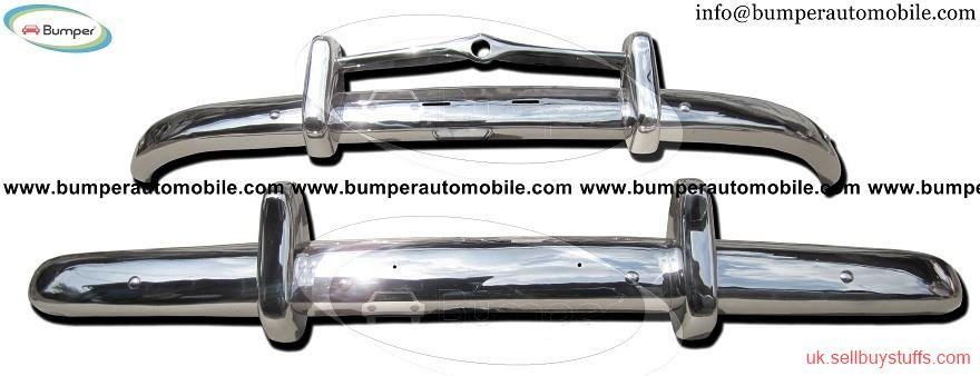 second hand/new: Volvo PV 444 bumper kit (1947-1958) stainless steel