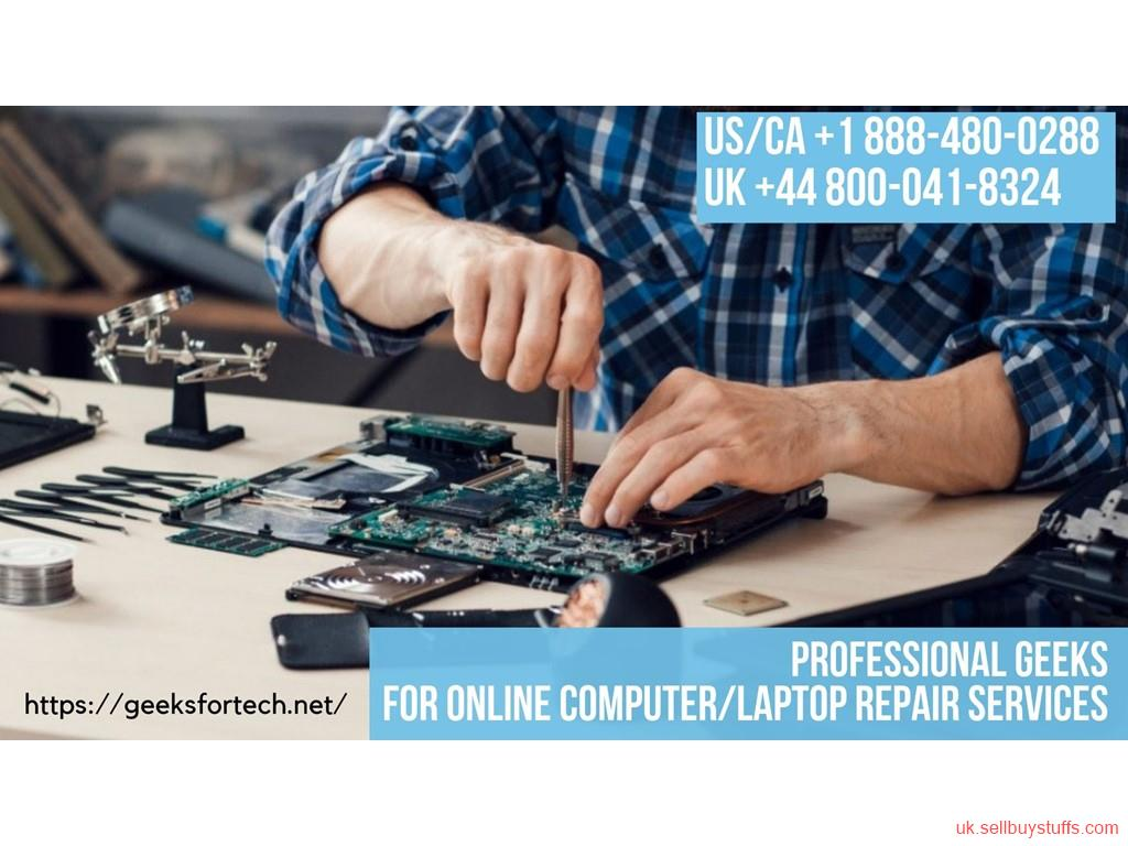 second hand/new: For Remote PC Repair Call Geek Support +44 800-041-8324