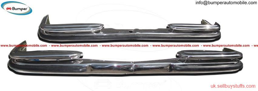 second hand/new: Mercedes W108 & W109 bumper kit (1965-1973) stainless steel