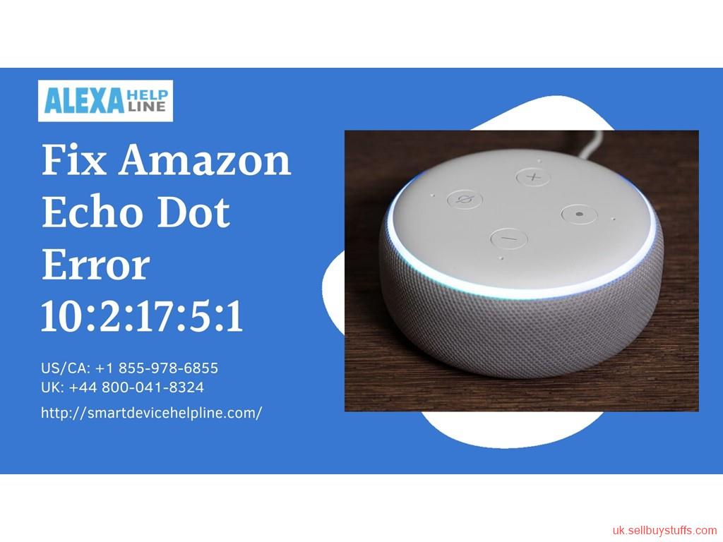 London Classified Call +44 800-041-8324 to Fix Alexa Error 12:2:15:10:1