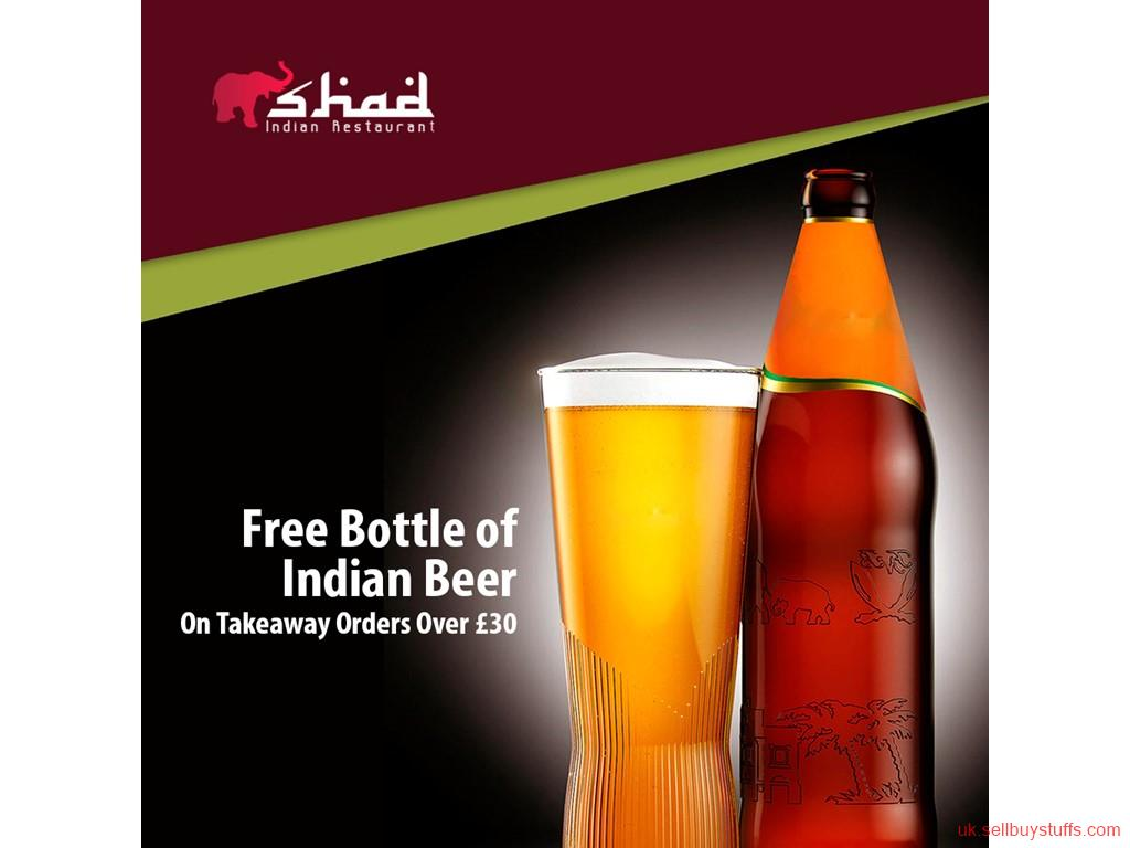 second hand/new: Free Bottle of Indian Beer from The Shad Indian!