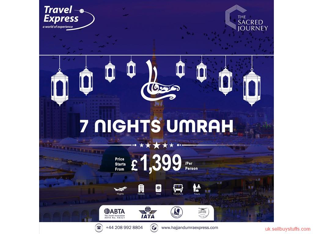 second hand/new: Cheap Ramadan Umrah Packages 2019 From London