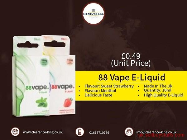 second hand/new: Electronic Cigarettes Wholesaler in UK
