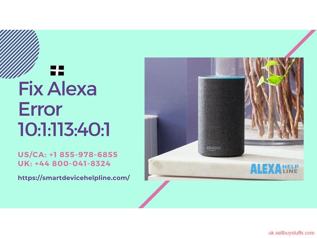 second hand/new: Alexa Error 7:3:0:0:1 | Call +44 800-041-8324