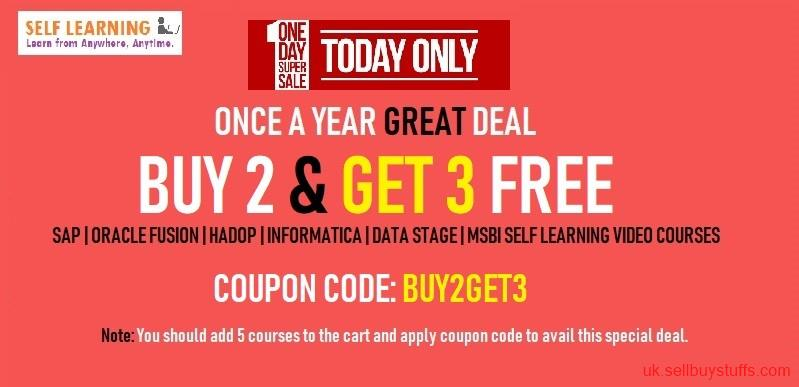 second hand/new: BUY 2 & GET 3 FREE SOFTWARE VIDEO COURSES