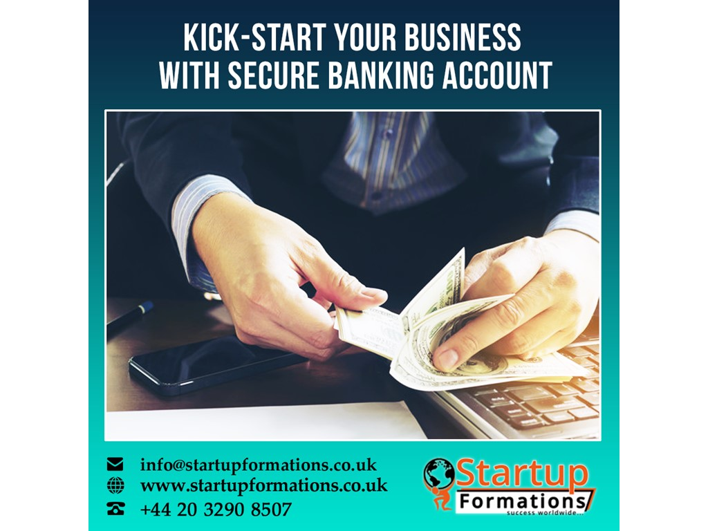 second hand/new: UK company formation with a corporate bank account