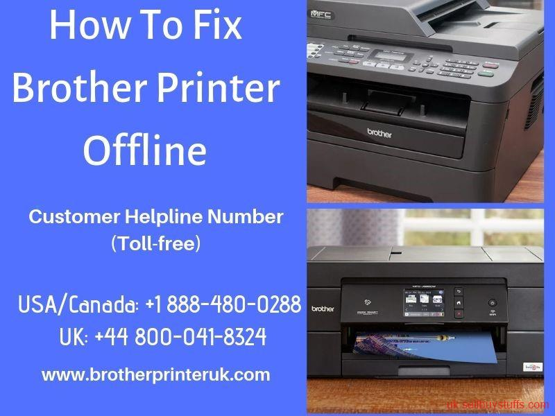 second hand/new: Brother Printer Offline | How To Get It Back Online? - +44 800-041-8324