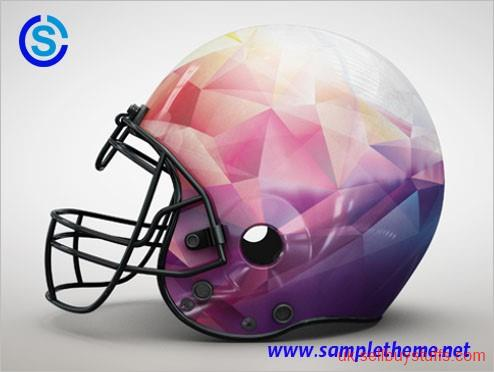 second hand/new: Football Helmet Mockups – Sampletheme