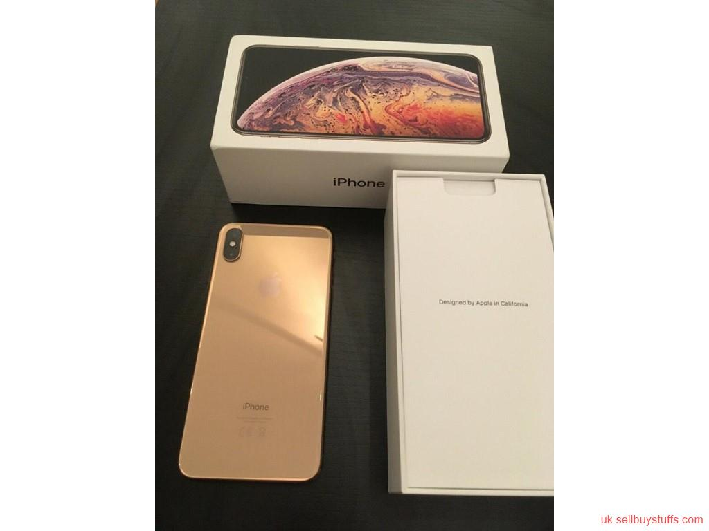 second hand/new: iPhone XS MAX --  $600 -  Whats­app :: +18572144678